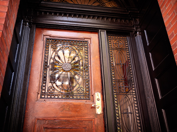Beacon Hill Iron Door