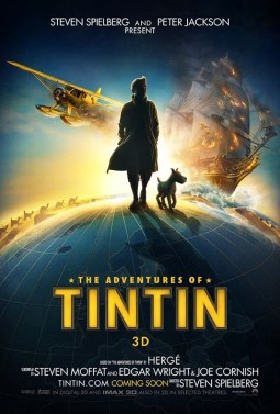 Adventures of Tintin Posters Unveiled
