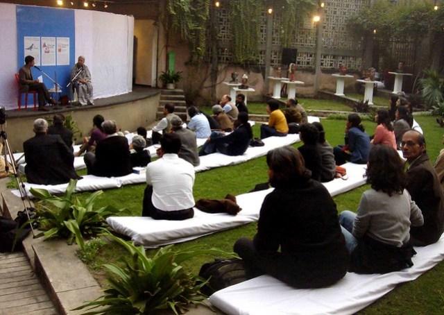 Anita Desai in Delhi