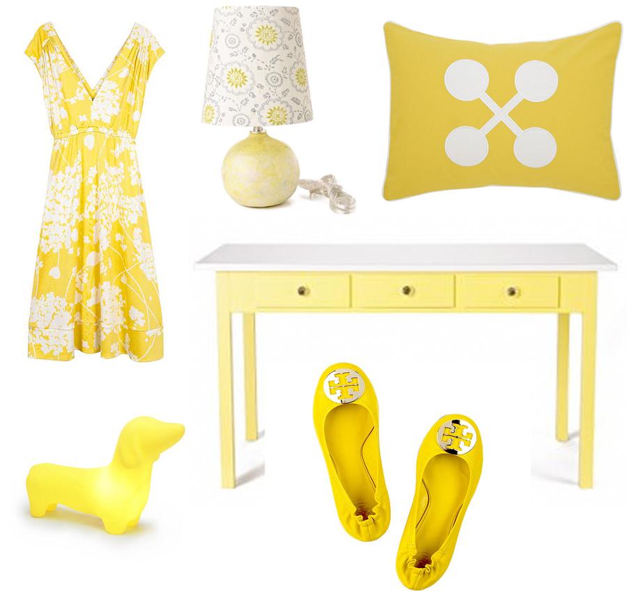 Color Me Monday: Yellow + White