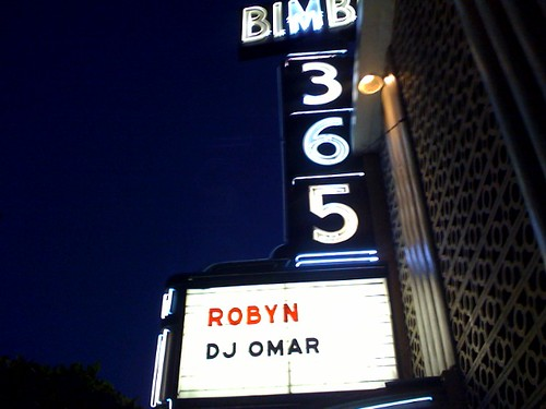 Robyn @ Bimbo's 365, San Fran
