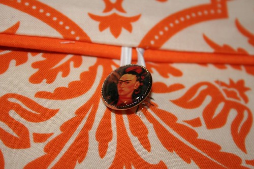 frida button: Tenth Day of Christmas