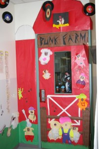 The JJK Blog: door decorating contest
