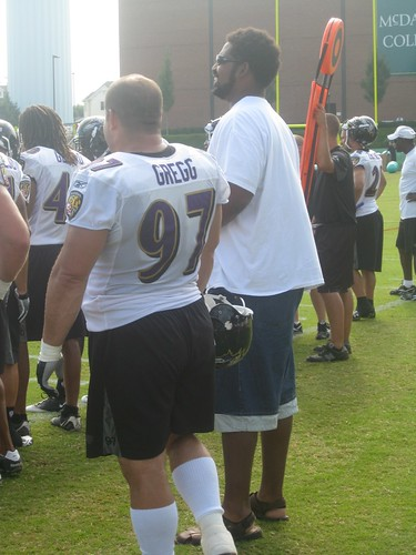Jonathan Ogden chats with Kelly Gregg