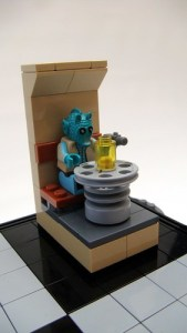 LEGO Star Wars chess set - Greedo