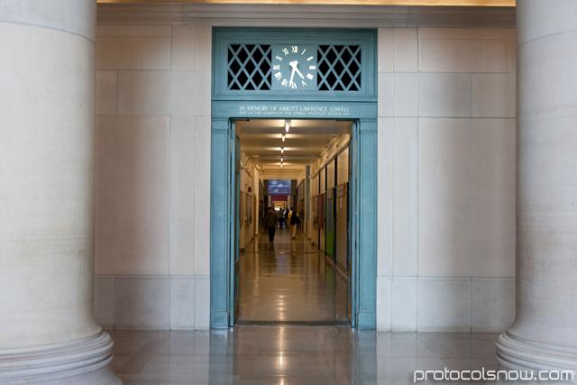 MIT infinite corridor hallway