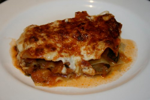 marrow lasagne