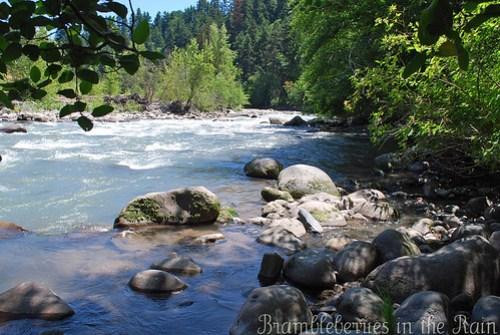 The Beautiful Hood River