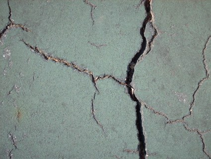 Cracks from Tennis Court - #7