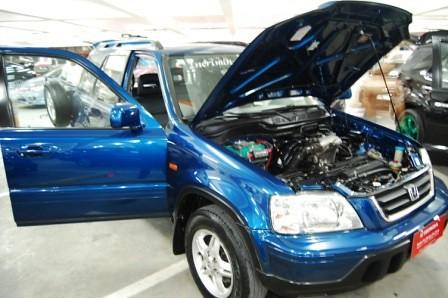 Incriminator Audio Honda CRV Front