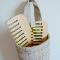 // Between the lines //: Water bottle holder :: a tutorial...