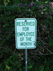 For the employee of the month