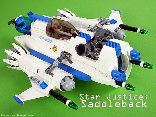 LEGO Star Justice Saddleback by Mark Stafford