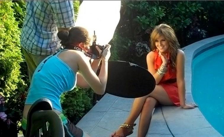 Behind the scenes: AJ shoot