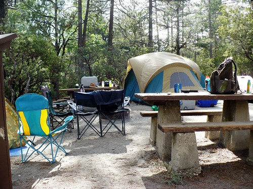 Camping at Idyllwild, June 2009