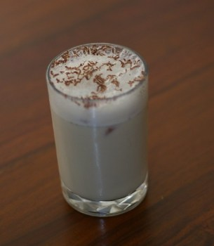 Bad photo of a White Russian