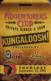 Adventurers Club Final Hoopla!