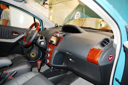 Toyota Yaris by Leather Plus Dashboard