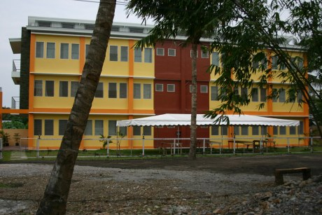 The newly-built Aimican Ladies Dormitory, ready for occupn