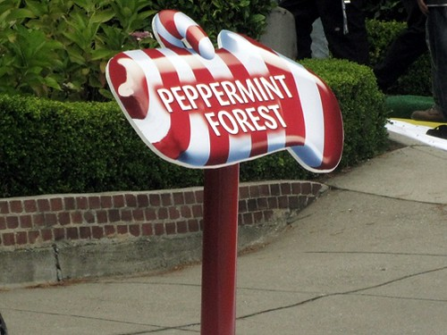 peppermint forest candyland Lombard Street