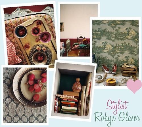 Stylist Robyn Glaser