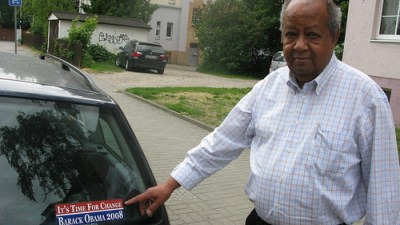The Black German and the President?