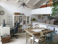 Office and Dining Room Combo Design Ideas:: Classic Home