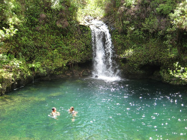 Near Pua'a Ka'a State Park, Maui: Swimming Hole