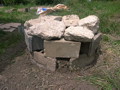Outdoor Pizza Oven Foundation
