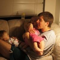 Celebrating International Kids Snuggle With Daddy Day