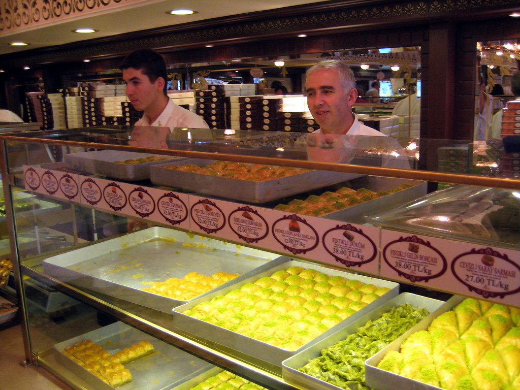 Kokos Mediterranean Küche The World 39s Best Photos Of Baklava And Cake Flickr Hive Mind