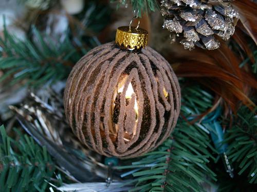 Faux Bois ornament