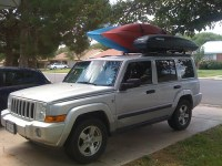 Custom Roof Rack - Jeep Commander Forums: Jeep Commander Forum