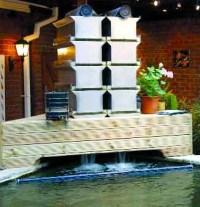 Koi Pond Filter With Bakki Shower | Koi Fish Care Info