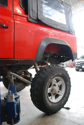 Team Land Rover Philippines Rear Suspension