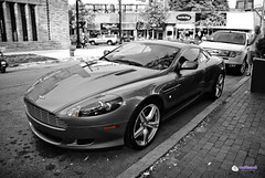 Aston Martin DB9 COUPE (color cutout)