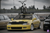 Yellow JDM EG Hatch | A's 94 GSR