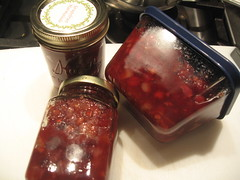 Pear & Cranberry Chutney