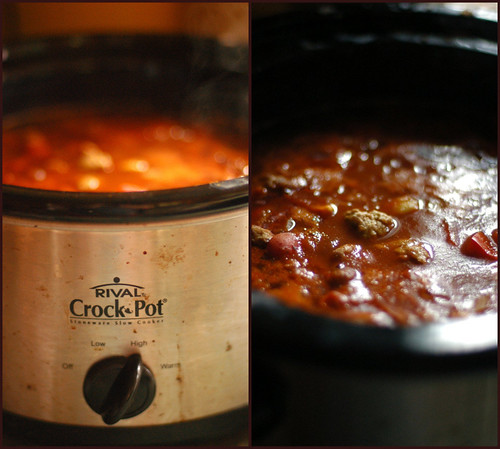 cooking in the Crockpot