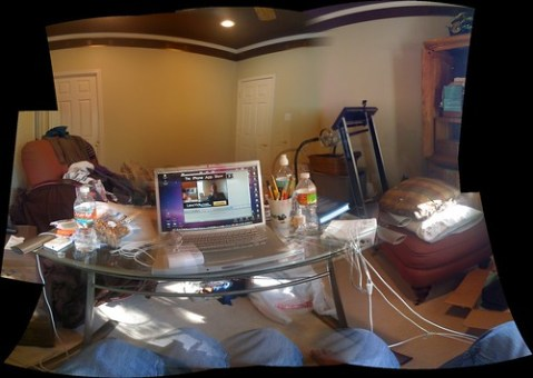 Playing with autostitch for The iPhone App Show