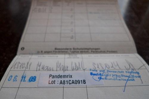 Mein Impfpass