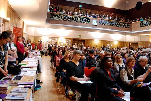Audience at Feminism in London 2009