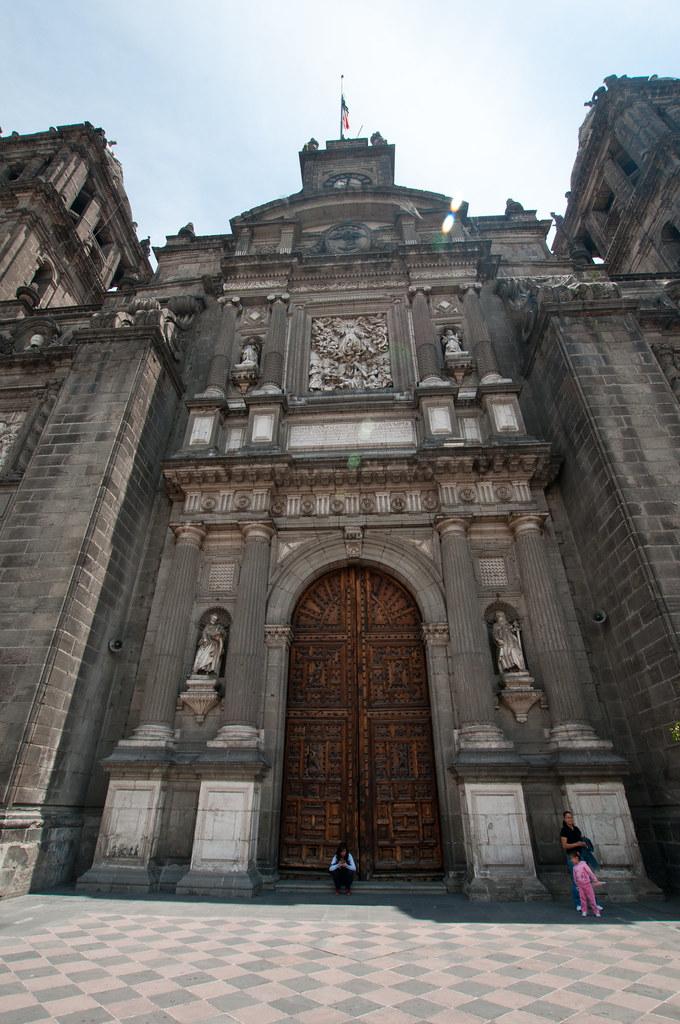 Cathedral Door in Mexico City