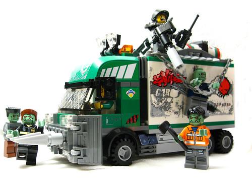 Apocafied LEGO 7733 truck