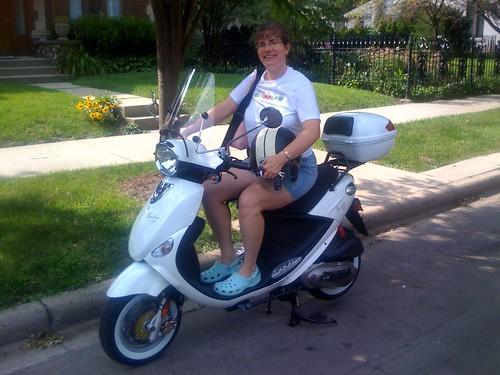 Stephanie's New Scooter