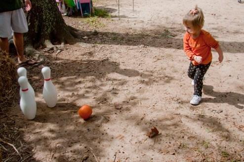 Pumpkin Bowling II