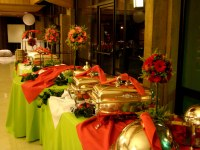 Buffet Table Decorating Ideas