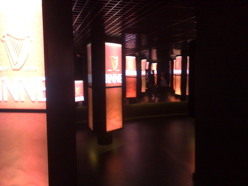 Inside Guinness Storehouse