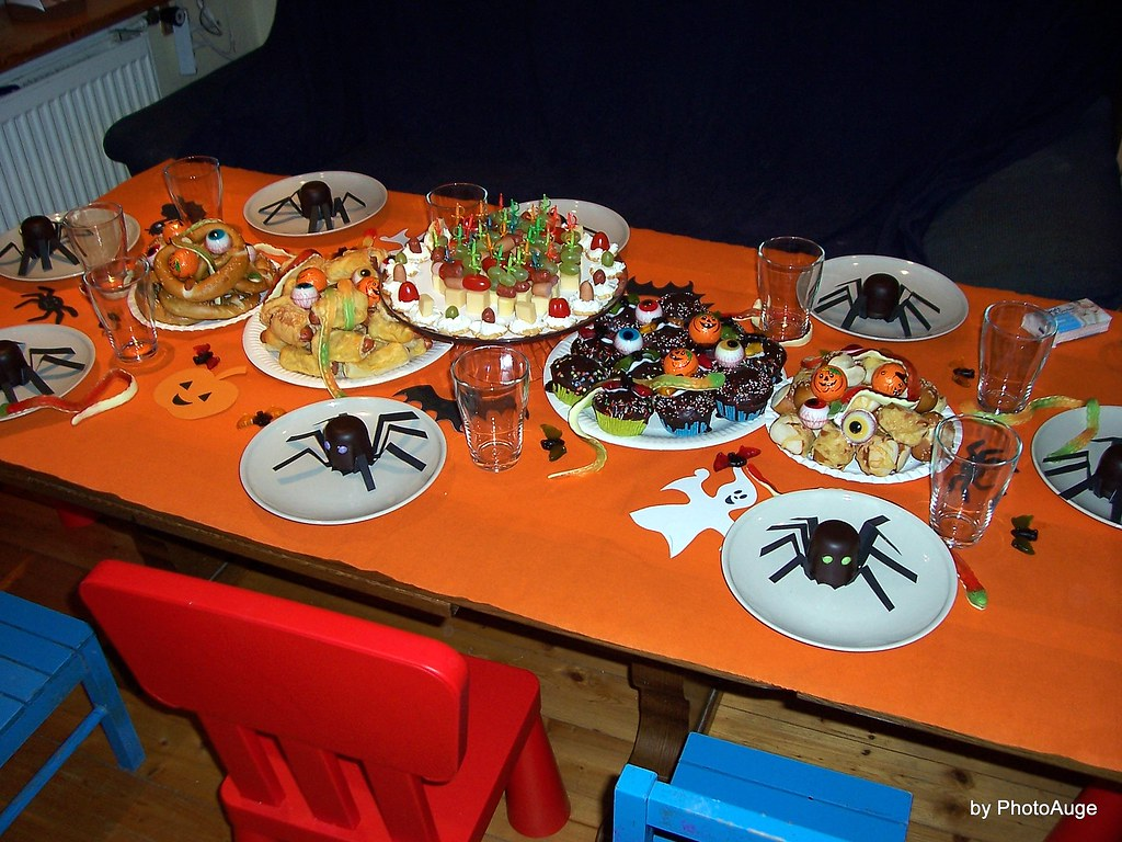 Halloween Kinderparty Buffet The World S Best Photos Of Grusel And Pyjamaparty Flickr Hive Mind