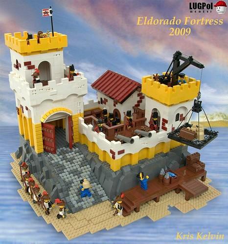 LEGO Pirates 6276 Eldorado Fortress redux